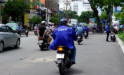 Uber chính thức dừng hoạt động ở Việt Nam