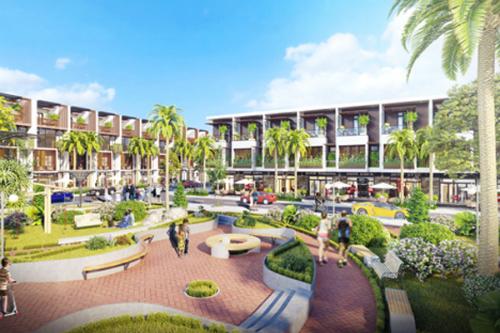 Bảo Lộc Golden City thiết kế theo phong cách nhà phố thương mại hiện đại. Liên hệ tham quan dự án tại đây hoặc hotline: 0971727374.
