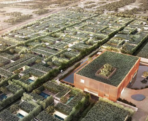 Phối cảnh toàn dự án biệt thự biển Wyndham Garden Phú Quốc với thiết kế tối đa mảng xanh trong vườn nhà và mái nhà. 0906 999 161 Website: wyndhamgarden.vn