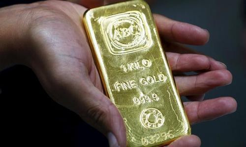 Đôla giảm kéo giá vàng tăng