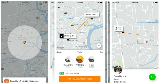 Những đối thủ mới của Grab khi không còn Uber