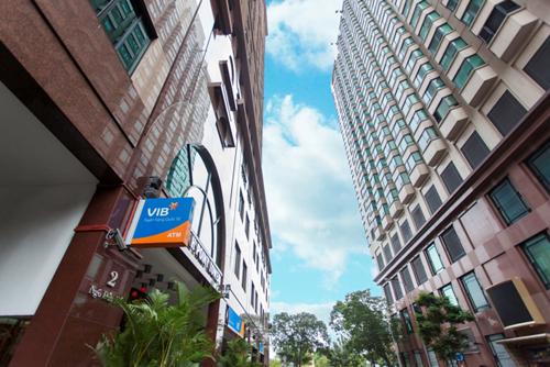 Một trụ sở của ngân hàng Quốc tế (VIB).