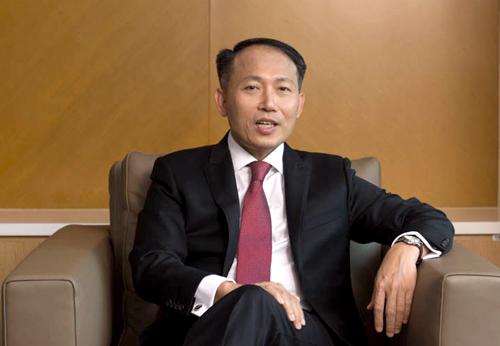 Ông Hàn Ngọc Vũ, Tổng giám đốc Ngân hàng Quốc tế (VIB).