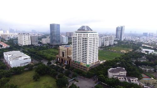 Golden King tọa lạc ngay trung tâm tài chính Phú Mỹ Hưng, quận 7.