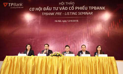 TPBank lần đầu tiên trả cổ tức sau 7 năm