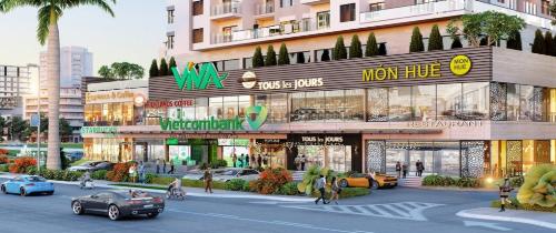 Một dự án trung tâm thành phố của Vietcomreal đang áp dụng các gói tài chính ưu đãi.