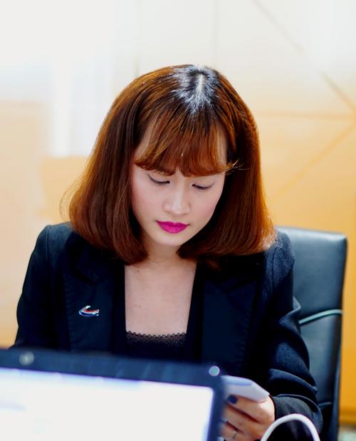 Bà Monica N. Pham - Giám đốc điều hành American Venture Solutions Việt Nam. Ảnh: Tuấn Nhu.