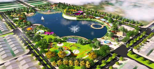 Phối cảnh dự án công viên Thiên văn học ngoài trời 12 ha ở Dương Nội. Liên hệ Công ty Bất Động sản Thịnh Phát - đơn vị phân phối chính thức của dự án khu biệt thự Dương Nội, hotline: 0934.340.675
