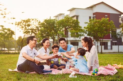 Trải nghiệm xanh tại Dahlia Homes sẽ mang đến cho bạn và gia đình cảm nhận chân thực về cuộc sống ở khu đô thị Gamuda Gardens.