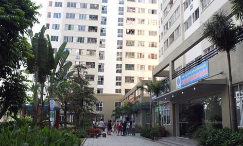 Chung cư nhà xã hội Đặng Xá (Hà Nội). Ảnh: Nguyễn Hà.