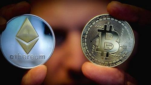 Mỗi Bitcoin đang có giá 7.999 USD trên Coindesk. Ảnh: CNBC.