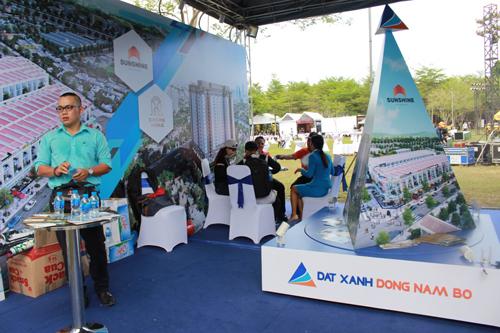 Đất Xanh Đông Nam Bộ tài trợ đại hội mô tô Việt Nam