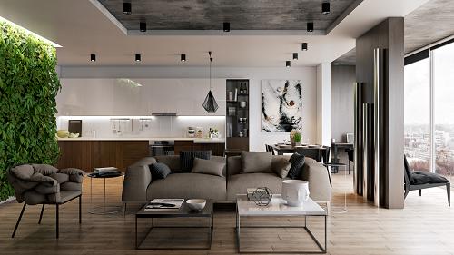 Khách có thể trải nghiệm căn hộ mẫu tại lễ bàn giao căn hộ Block C dự án DIC Phoenix.