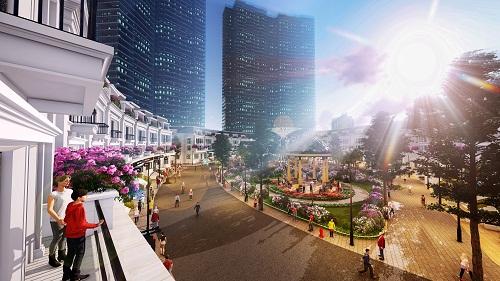 Theo chủ đầu tư, dự án có nhiều tiềm năng thương mại khi nằm ngay khu đô thị cao cấp Ciputra.