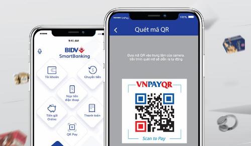 Để sử dụng QR Pay, chủ tài khoản BIDV có thể đăng ký trực tuyến tại đây, đăng ký qua ứng dụng BIDV Smart Banking hoặc phòng giao dịch.
