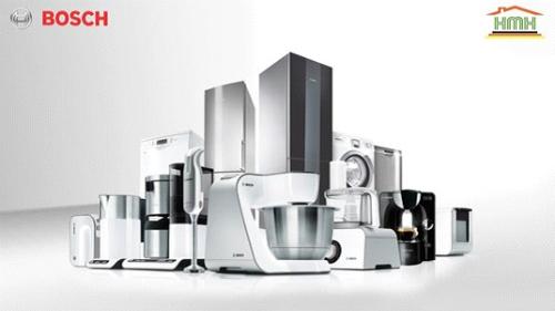 HMH phân phối các mặt hàng gia dụng của Bosch như bếp từ, máy rửa bát, lò vi sóng, tủ lạnh, máy giặt&