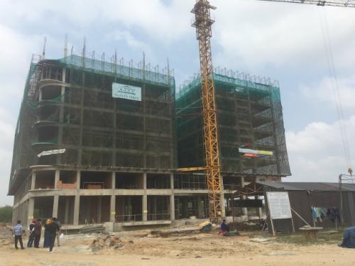 Dự án nhà ở giá rẻ của Bitas tại Bình Thuận đang trong giai đoạn hoàn thiện.