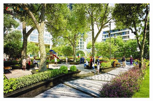 Khai Sơn City - Dự án phong cách Mỹ bên sông