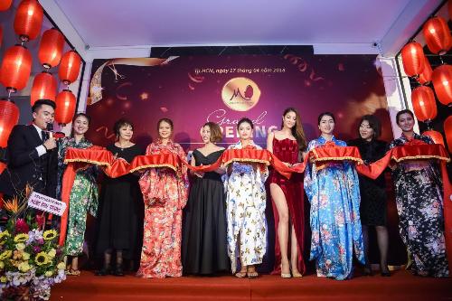 Dàn sao Việt dự khai trươngspa Mika Beauty Japan