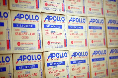 Apollo cảnh báo keo Silicone kém chất lượng