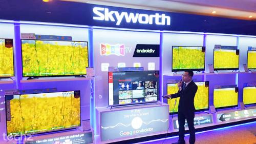 Skyworth có thế mạnh về các dòng Smart TV, màn hình LCD, LED.