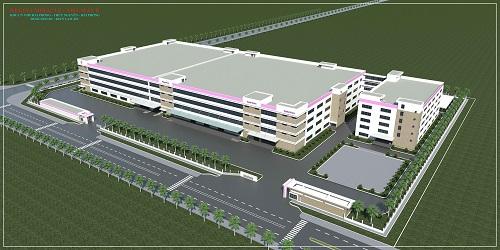 Bản vẽ dự án nhà máy Regina giai đoạn 8 tại khu công nghiệp Thủy Nguyên, TP Hải Phòng.