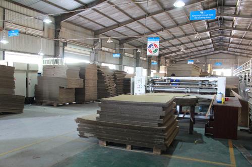Nhà xưởng sản xuất của công ty Karta.