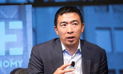 Andrew Yang muốn tranh cử Tổng thống Mỹ năm 2020. Ảnh: Andrew Yang