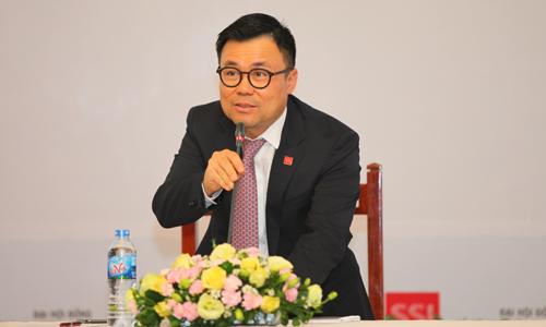 Chủ tịch Công ty cổ phần Chứng khoán SSI, Nguyễn Duy Hưng. Ảnh: Hà Thanh