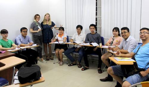 Học nghe nói và giao tiếp trung tâm anh ngữ iLi - 1