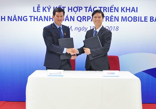Ngân hàng Bản Việt ký kết cùng Công ty Cổ phần giải pháp thanh toán Việt Nam (VNPAY).