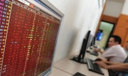Cổ phiếu ngân hàng chìm trong sắc đỏ, VN-Index mất hơn 43 điểm