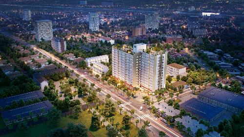 Phối cảnh dự án căn hộ vừa được TDH công bố cách đây vài tuần.