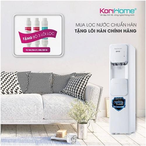Korihome ra mắt4 loại máy lọc nước tích hợp nóng lạnh - 2