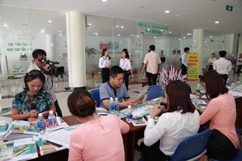 DIC Phoenix thu hút sự quan tâm đông đảo của khách hàng Vũng Tàu, TP.HCM và tình thành lân cận.