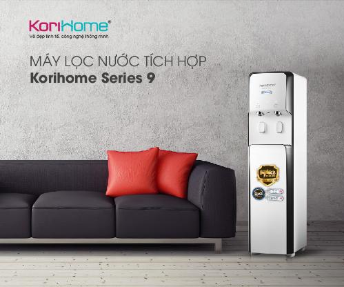 Korihome ra mắt4 loại máy lọc nước tích hợp nóng lạnh - 1