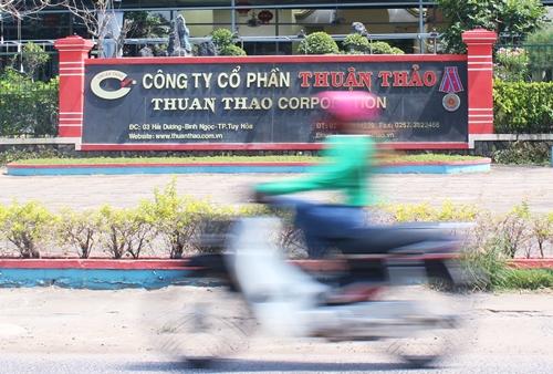 Trụ sở công ty Thuận Thảo tại Phú Yên. Ảnh: Phương Đông.
