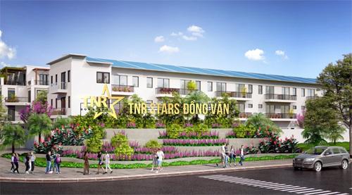 Phối cảnh dự án TNR Stars Đồng Văn