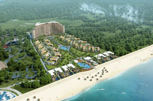 Kahuna Hồ Tràm mở bán biệt thự gần hoàn thiện