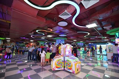 Khu vui chơi Game World thu hút khách hàng đủ mọi lứa tuổi