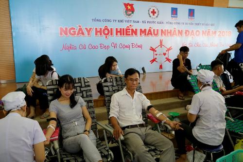 PV Gastổ chức ngày hội hiến máu Nghĩa cử cao đẹp vì cộng đồng - 1