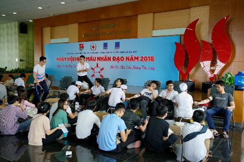 PV Gastổ chức ngày hội hiến máu Nghĩa cử cao đẹp vì cộng đồng - 2