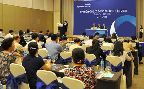 Đại hội cổ đông thường niên của Ngân hàng Bản Việt tổ chức cuối tháng 4.