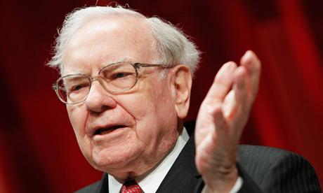 Tỷ phú Warren Buffett - CEO Berkshire Hathaway. Ảnh: Fortune.