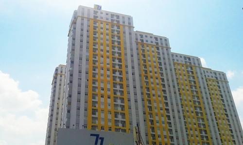 Doanh thu Công ty 577 tăng đột biến nhờ dự án đối diện Carina