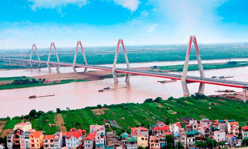 Đề xuất đầu tư 4 tỷ USD xây thành phố thông minh gần cầu Nhật Tân
