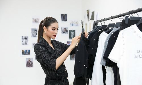 Hoa hậu Phạm Hương thuê hầm giữ xe làm startup thời trang