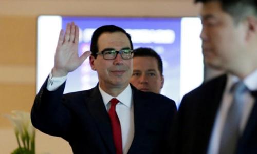 Bộ trưởng Tài chính Mỹ - Steven Mnuchin. Ảnh: Reuters