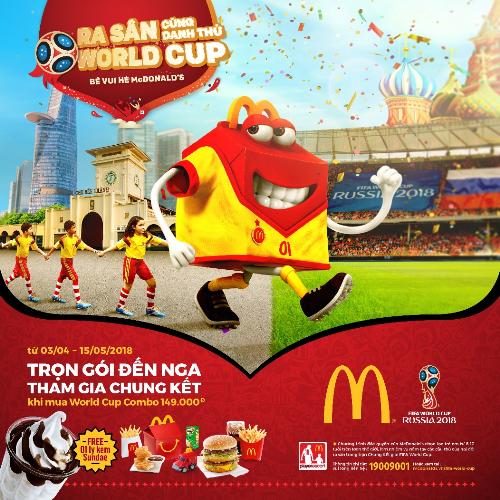 Cơ hội đến Nga xemWorld Cup 2018 cùng McDonalds - 1