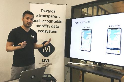 Ông Kay Woo chia sẻ về ứng dụng của MVL tại TP HCM cuối tuần qua. Ảnh: Viễn Thông